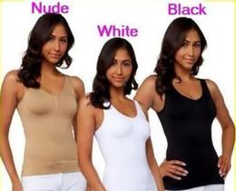 79e9ec1b81 Hot Sale Full Size Genie Bra Cami Hot Tank Top Women Body Shaper Removable  Shaper Underwear Slimming Vest Corset Shapewear