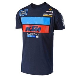 China 2018 New Go pro Motorcycle Short Sleeve T-shirt For Motocross jersey Men's Summer Mountain Course T Shirt FF cheap jersey t shirt motocross suppliers