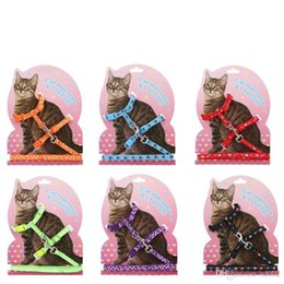 $enCountryForm.capitalKeyWord NZ - Pet Traction Rope Plaster Double Deck Heart Shaped Cartoon Cats Chain Ropes Kitten Cat Harness Lead Set 3 8sz gg