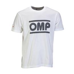 8f2fbbb8b5 Camiseta OMP Racing Spirit para hombre blanca - Genuina - M Camiseta para  hombre 2018 de moda 100% algodón Camiseta con cuello redondo estampada  barata