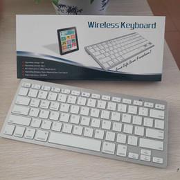 Toptan satış Yeni cep telefonu klavyeler bluetooth V3.0 mini 78 tuşları akıllı cep telefonu ipad için taşınabilir ultr-ince kablosuz klavye fit ios windows android