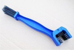 Wholesale Motorcycle and bicycle chain hair brush bike cleans the brush bike cleaning chain brush accessories