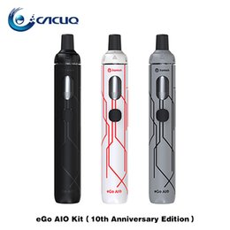 Direct ego online shopping - Joyetech eGo AIO Starter Kit mAh th Anniversary Edition ml Capacity with SS316 ohm Original MTL Direct Output Vape Kits