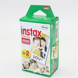 2018 hot 19 style Instax Mini 8 film para marca Instax Mini 7s 8 9 70 Instant Photo Camera Compartir SP-1 SP-2 White Film en venta