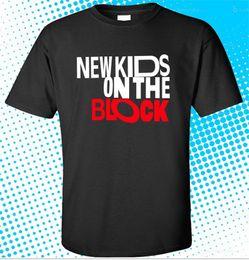 Black Blocks Australia - Quality Shirts New Style New NEW KIDS ON THE BLOCK Logo Boy Legend Men's Black T-Shirt Size S - 3XLPlus Size Casual Clothing