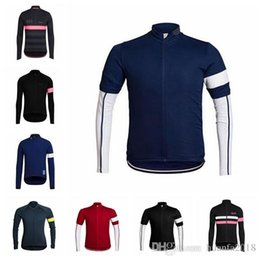 Mountain Bike Jersey Sale Canada - New Hot Sale RAPHA team Cycling long  Sleeves jersey mountain 03ee07a28