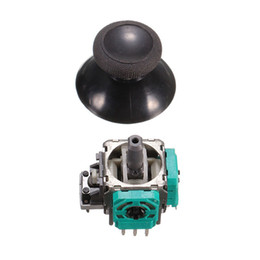 ems sensor free NZ - Original ALPS 3D Analog Joystick Stick Sensor Module + Thumbstick Thumb Sticks For Xbox One DHL FEDEX EMS FREE SHIPPING