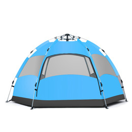 Car tent Canopy online shopping - 2018 hot sell fashion outdoor automatic Persons Automatic Camping Tent Waterproof Double Layer UV Beach Sunshade Canopy