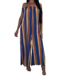 $enCountryForm.capitalKeyWord UK - Womail woman bodysuit Fashion Women Slash Neck Stripe Camisole Vest Sleeveless Long Jumpsuits woman jumpsuits 2018 L30814