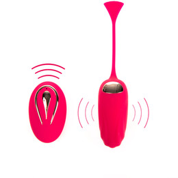$enCountryForm.capitalKeyWord NZ - Remote Control Vibrating Love Egg Novelty Body Vibrator Vagina Ball Massager Clitoral Stimulator Pretty Adult Sex Toys For Woman S18101309