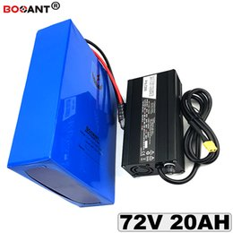 Motor Bicycles Australia - Rechargeable Electric Bicycle Lithium Battery 72v 20Ah E-bike Lithium Battery for Bafang BBSHD 1000W 1800W Motor Free Shipping