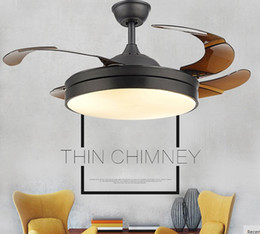 Ceiling Fans Lights & Lighting Humor Five Leaf Ceiling Chandelier Fan Lights Black Chandelier Fan Lamps Led Chandelier Fan Restaurant Bedroom Door Simple New Model