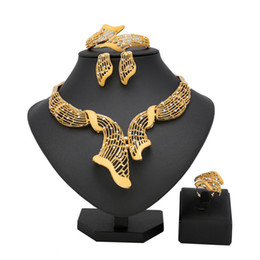 Discount dubai costume sets - New Jewelry Sets Bridesmaid African Wedding Bead Jewelry Set Ball Trendy Dubai Sets Fashion Egyptian Costume