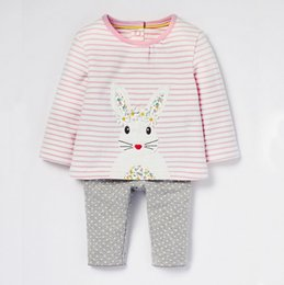 baby clothes factory 2018 - Ins New born baby girl clothes sets kids gift girls clothes clothing tracksuits tracksuit for boy toddler child suits Ma