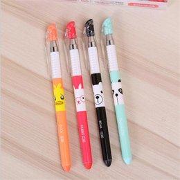 Peerless 0.5mm Lutra Otter Animal Gel Pen Signature Pen School Office Supply Promotional Gift Pens, Pencils & Writing Supplies