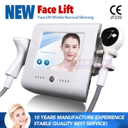 Portable Slim Machine NZ - 2 In 1 Portable Home Use High Intensity Focused Ultrasound RF Thermolift Machine Vacuum Cooling For Skin Tightening Body Slimming