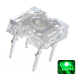 $enCountryForm.capitalKeyWord Australia - 100 pcs 3mm Piranha Green LED Diode Lights Lighting Bulb Lamps Electronics Components Light Emitting Diodes
