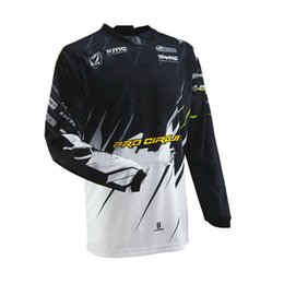 34a749208 man style off road MX Mountain Bike Riding Racing cycling jerseys motocross  T shirts Downhill dirt bike sweatshirt ATV jerseys