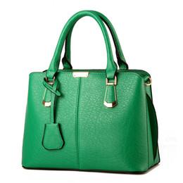 4580feb47 MONNET CAUTHY Sacos Mulher Concisa Lazer Moda Elegante Escritório Senhoras  Bolsa Cor Sólida Rosa Céu Azul Verde Vinho Tinto Sacola