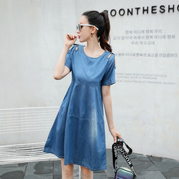 252b8c90f6 elegant denim dresses plus size 2019 - Tunic 2018 Beach Plus Size large Big  Sexy Elegant