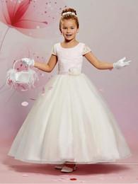 short christmas dance dresses australia lace cap sleeve custom cute princess flower girl dress ankle