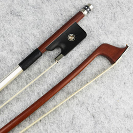 Cello bows online shopping - Special offer Size Pernambuco Cello Bow Natural Mongolia Horsehair Fast response Ebony Frog Cello Parts Accessories