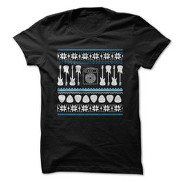 $enCountryForm.capitalKeyWord NZ - Youth Round Collar Customized T Shirts Men'S Crew Neck Short Sleeve Compression Bass Guitar - Ugly Christmas Sweater T Shirts