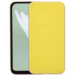 Желтый Goophone XR 6,1-дюймовый весь экран 3G WCDMA четырехъядерный MTK6580 1 ГБ 4 ГБ+32 ГБ Face ID беспроводная зарядка GPS двойная Nano Sim-карты смартфон