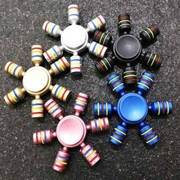 Fidget spiners online shopping - New kids toys spinner Rainbow Fidget Spinner Finger Spinner Hand Spinners ABS Spiners Comes Anti Relieve Stress Toys