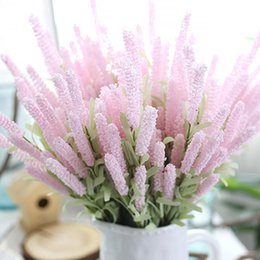 Lavender wedding table decorations australia new featured lavender 51cm artificial lavender flowers wedding christmas party table decoration bouquet 12 heads lavender simulation flowers christmas decorations junglespirit Image collections