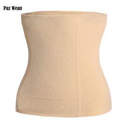 8334d97242e Waist Corset For Slimming Tummy Tuck Belt Belly Body Shaper Control  Underwear Girdle Shapewear Tummy Cincher Trimmer For Women
