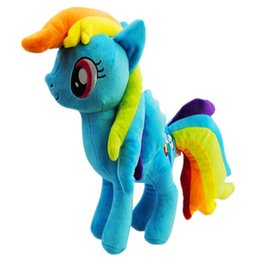$enCountryForm.capitalKeyWord UK - My Pet Little Doll New Cotton Plush Toy Action Figures Friendship Is Magic Rainbow Dash