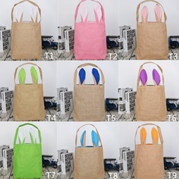 Shop eco friendly jute bags uk eco friendly jute bags free 2017 easter gift bags large candy heavy jute bag rabbit easter bunny bag with ear easter bags for kids negle Images