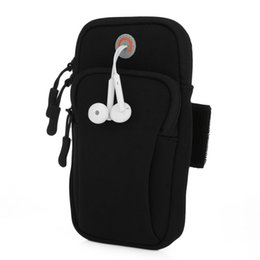 table pouch UK - Outlife Gym Fitness Phone Outdoor Running Pouch Arm Band Bag Women Men Gym Fitness Arm Wrist Bag Phone Key Pouch Pouch Bag Gym Fitness Phone