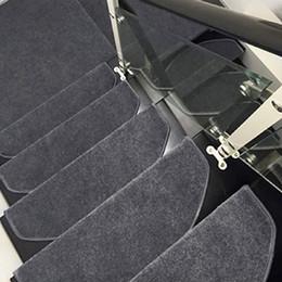 1 pc Degraus Treads Tapete Tapetes Capacho Escada Tappeti Slip Resistente Espessamento Tapetes para Escadas Tapete Tapete Durável venda por atacado