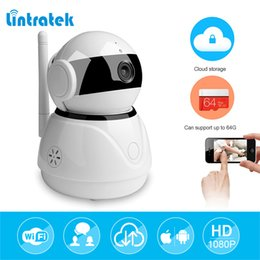 Audio work online shopping - 1080P mp Pan Tilt Smart Home IP Camera Wi Fi Cloud Storage Two Way Audio WiFi IP Camera Work Home Security Baby Monitor