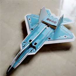 $enCountryForm.capitalKeyWord NZ - US Air Force Model F22 Rc Plane Toys Shatter Resistant Foam Board Led Rc Jet 6 Channel Radio Control Airplane Best Christmas Gift