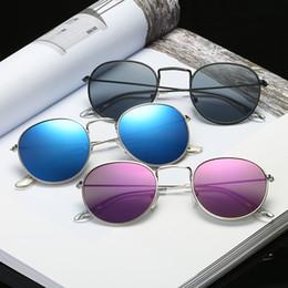 9f3a48253f4 TransparenT round frame glasses online shopping - Men s sunglasses vintage  round frame sun glasses Colorful