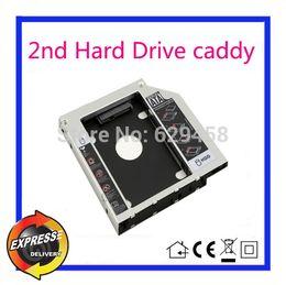 ship hard drive 2019 - 2nd SATA HDD Hard Disk Drive caddy for Asus K56CM K56CB K56CA A450 X450JF GU71N MATSHITA UJ8C2 Free Shipping cheap ship
