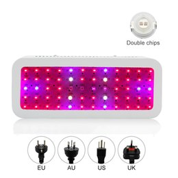$enCountryForm.capitalKeyWord NZ - New 600W Double Chip Lamp LED Grow Light Full Spectrum Red Blue White UV IR 410-730nm For Indoor Plants and Flower hydroponics