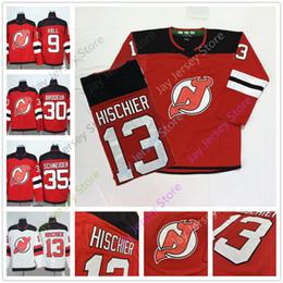 2019 New Jersey Devils Jersey 9 Taylor Hall 13 Nico Hischier 30 Martin  Brodeur 35 Cory Schneider Ice Hockey Winter Classic Stadium Series 5167b36b6