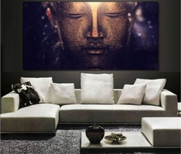 Religious Art Canada - Handpainted & HD Print Modern Abstract Religious Art oil painting Buddha,Home Wall Art Decor High Quality Thick Canvas .Multi sizes p46