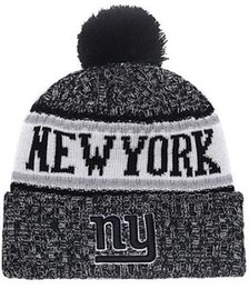 286a8cf806a 2019 New York Beanie NY Sideline Cold Weather Graphite Official Revers  Sport Knit Hat All Team winter Warm Knitted Wool Skull Cap 1000+01
