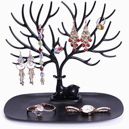 Stylish Jewelry NZ - Practical Retro Bird Tree Watch Jewelry Display Stand Bracelet Necklace Ring Earring Stylish Tree Stand Holder Show Rack