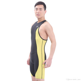 260dcf34de One Piece Swimsuit Anti-UV Short-sleeved Diving Suit Sun Protection Couple  Diving Sport Full Knee Leg Body Swimsuit Bodysuit For Men Boy
