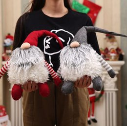Discount face dolls - Christmas Decoration Doll No Face Doll Christmas Gift Plush Gift Swedish Santa Claus Scandinavian Christmas Gnome Plush
