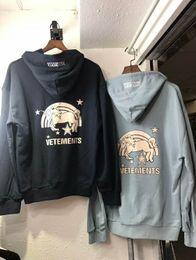 $enCountryForm.capitalKeyWord Canada - 2018 famous brand vetements unicorn letter printing Women's Hoodies vtm oversize Bf style ins fashionable fleece 2color S-XL unisex coat