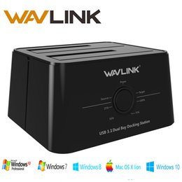 $enCountryForm.capitalKeyWord Australia - Wavlink USB 3.1 TypeC to SATA Dual Bay Docking Station 2.5 3.5 SSD HDD SATA 1 2 3 Enclosure For 2*8 TB with Offline Clone Backup