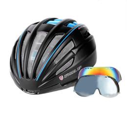 $enCountryForm.capitalKeyWord Canada - WHEEL UP Integrally Aerodynamic EPS Lens Cycling Helmet Ultra-Light Mountain Bike Helmet Universal Bike Accessories Top quality