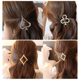 $enCountryForm.capitalKeyWord Canada - 1PC Women Lady Girls block Alice Heart Hair Clip Delicate Hairpin Decorations Accessories